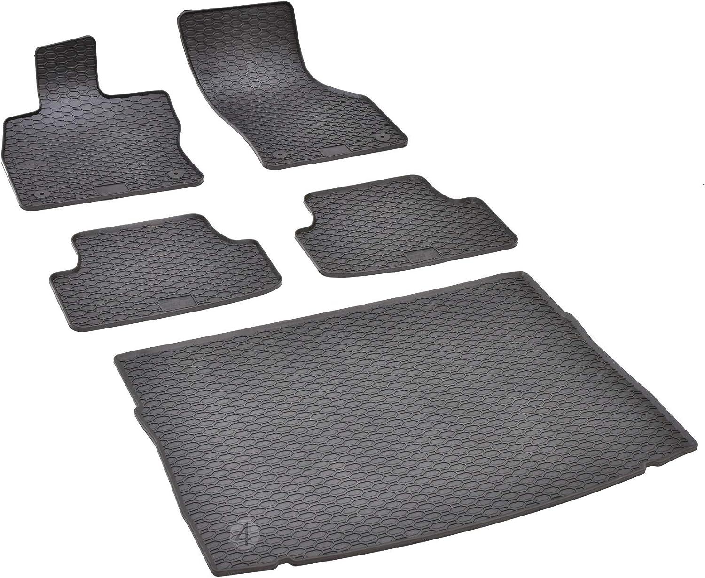 Passende Gummimatten Und Kofferraumwanne Set Geeignet Für Vw Golf Vii Ab 2012 Gurtschoner Auto