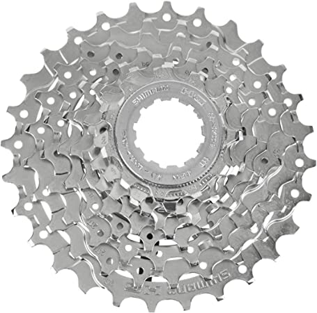 SILVER STEEL 11T FOR 9 SPEED CASSETTE SHIMANO DEORE CS-HG61-9 LOCK RING