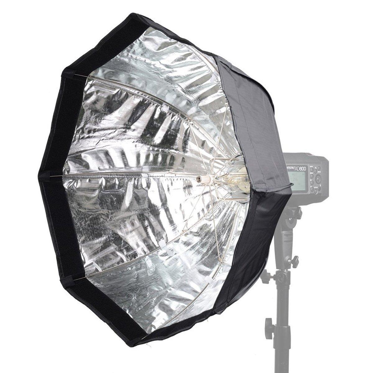 Amazon.com : Godox AD-H6 60cm Octagon Folding Umbrella Softbox For AD600 AD600M Flash (Godox Mount)  : Camera & Photo