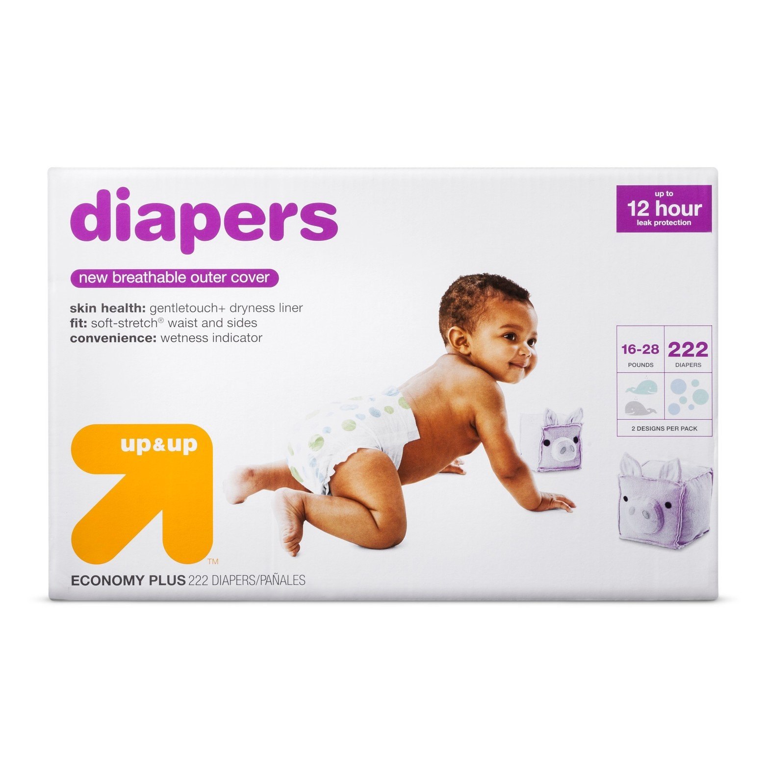 Diapers Bulk Plus Pack - up & upTM by Up and Up