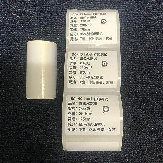 zhixing Impresora de Bolsillo para Smartphone, 203 dpi, Impresora ...