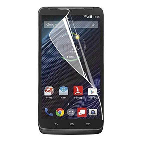 HR Wireless Screen Protector for Motorola Droid Turbo 2 - Clear