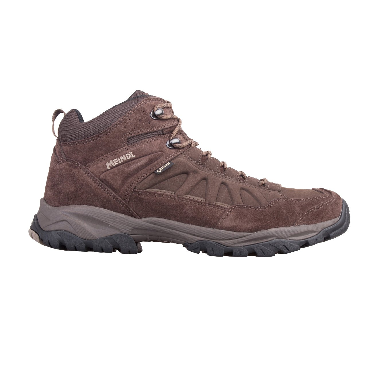 MEINDL Nebraska Mid GTX Zapato de Senderismo Caballero 40|Marr3n