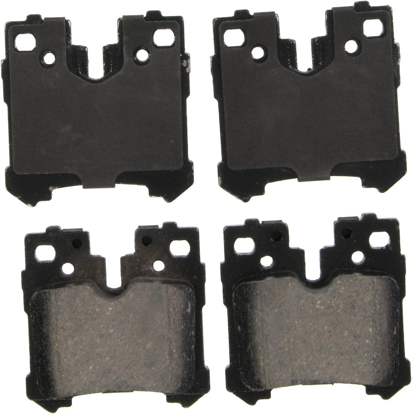 Disc Brake Pad Set-QuickStop Disc Brake Pad Rear Wagner ZD1283