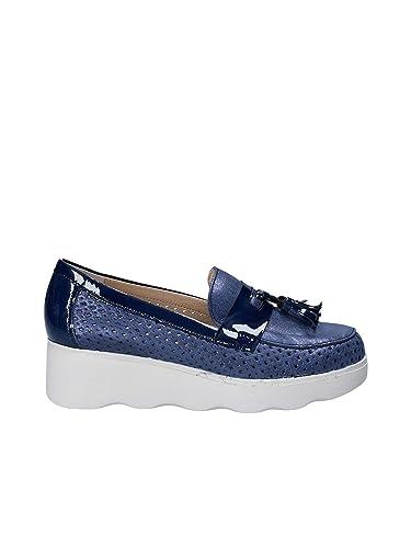 Pitillos 5112 Mocassins Femme Argenté - Chaussures Mocassins Femme