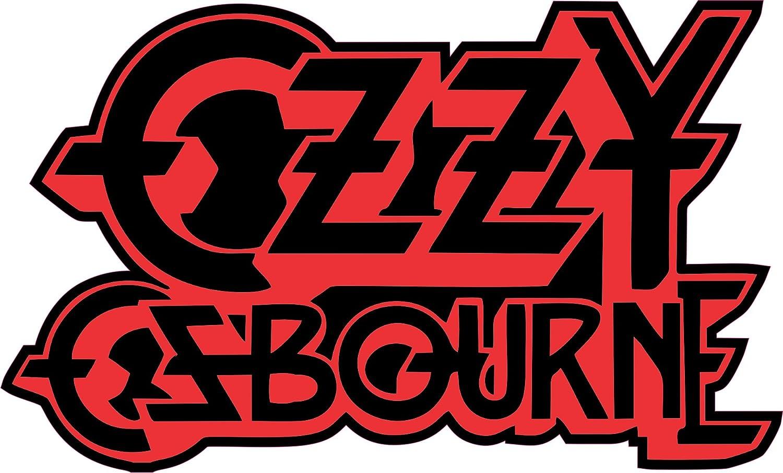Ozzy Osbourne 3 logo full color indoor//outdoor Vinyl Sticker Decal
