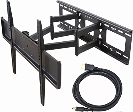 """TV Ceiling Mount Bracket Tilt Swivel 37 40 42 47 50 55 60 63 65 70/"""" LCD LED VESA"""
