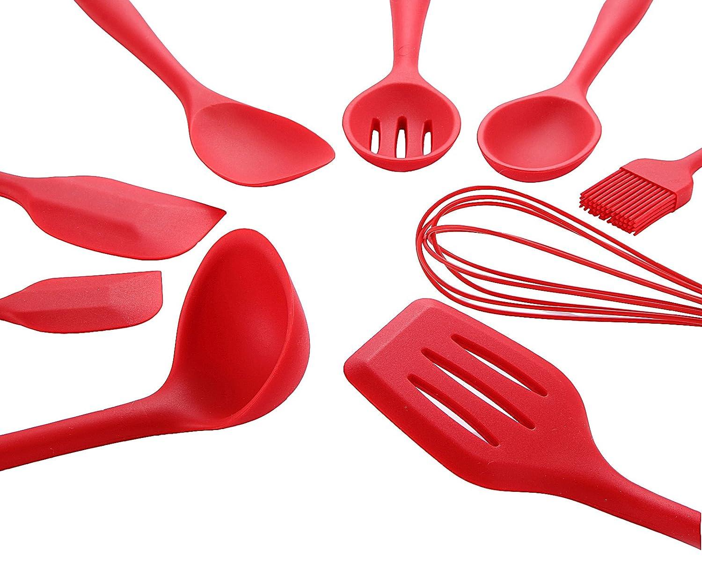 Joyoldelf 9 Stücke Küchenhelfer Set ,Premium Silikon ...