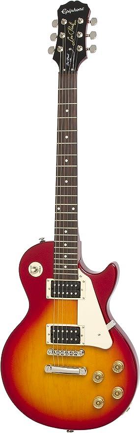 Epiphone Les Paul-100 - Guitarra eléctrica, color rojo (Amazon ...