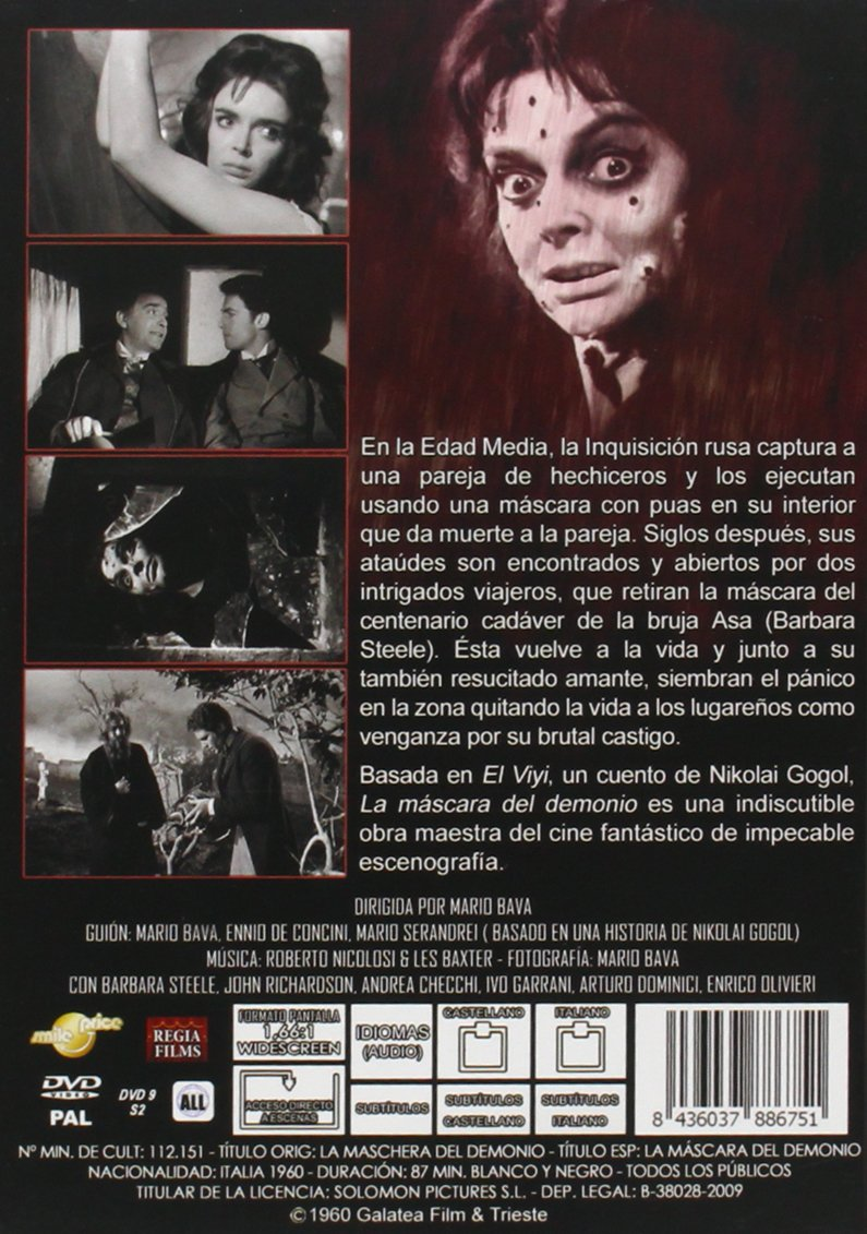 Amazon.com: La M‡scara Del Demonio (La Maschera Del Demonio) (1960) (Import): Movies & TV