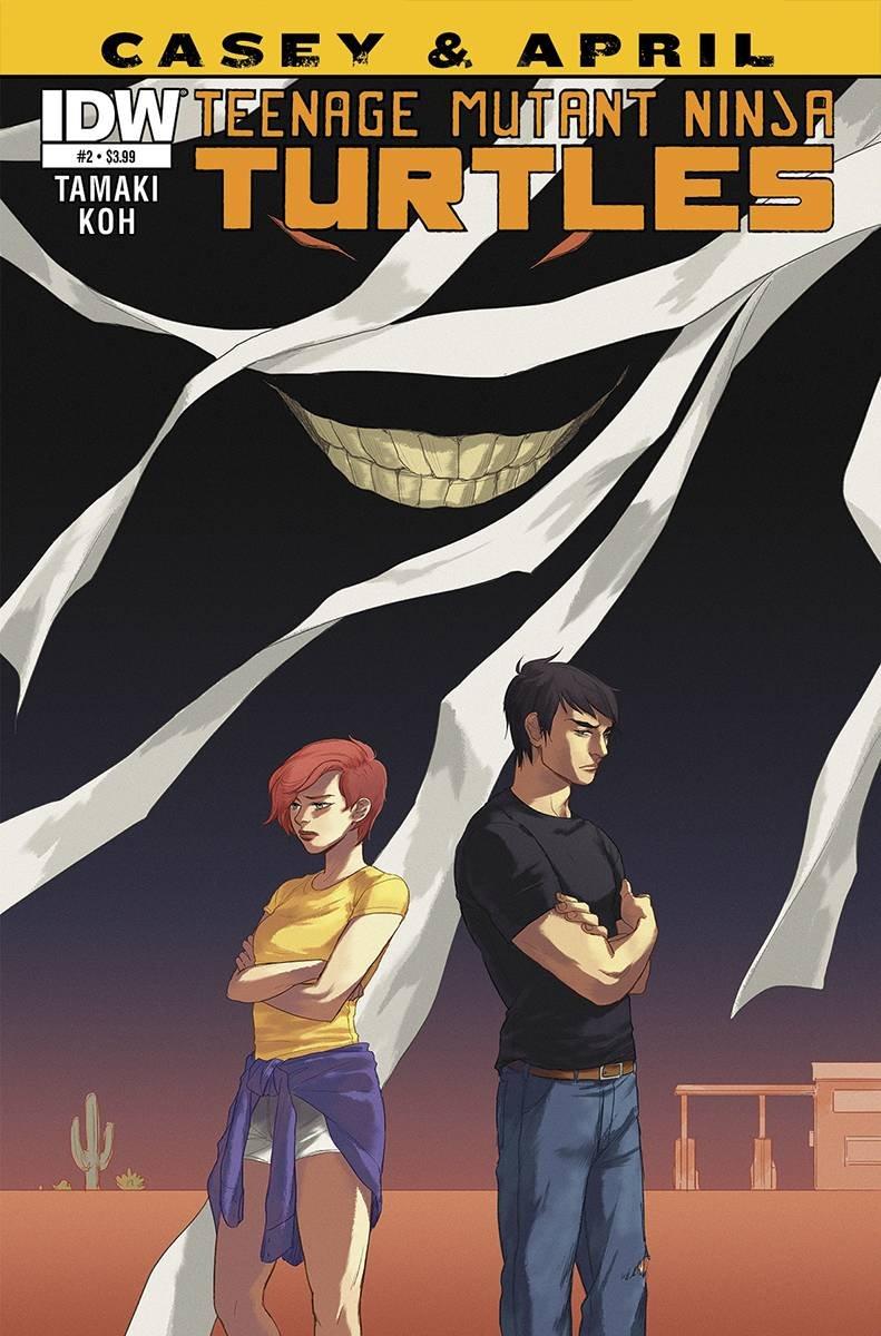 TEENAGE MUTANT NINJA TURTLES CASEY & APRIL #2 (OF 4): Amazon ...