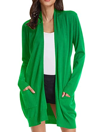 GRACE KARIN Womens Light Weight Long Sleeve Open Front Long Cardigan (S  ad953feb2