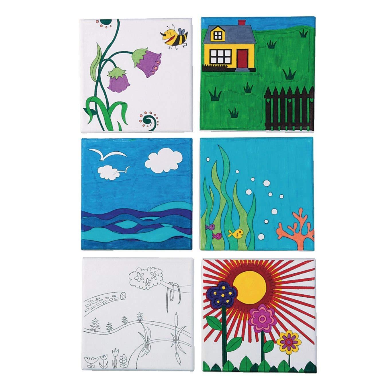 Designer Canvas Set by S&S Worldwide