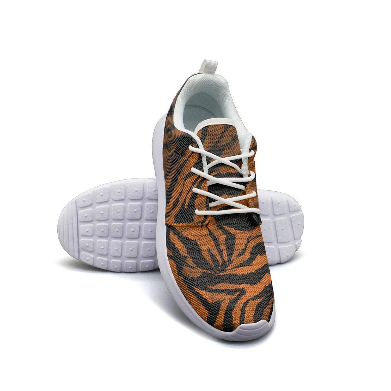 Hobart dfgrwe Zebra Gradient Tie Dye Colorful Camouflage Women Flat Bottom Casual Shoes Cute Running Shoes