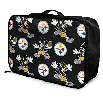 bae59a0f7656 Amazon.com | Aoskin Pittsburgh Steelers Cartoon Fashion Lightweight ...