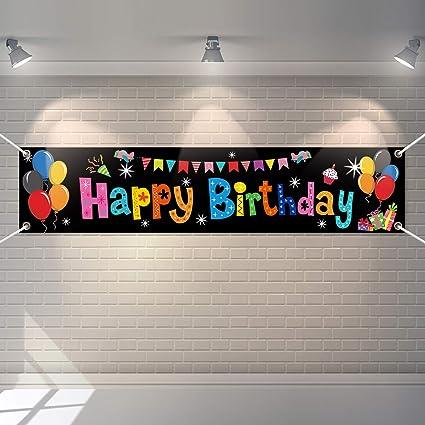 FREE 2nd DAY SHIPPING Custom Birthday Banner Custom Kid/'s Birthday Banner 13 Oz Vinyl Printed Backdrop Banner Custom Congratulations