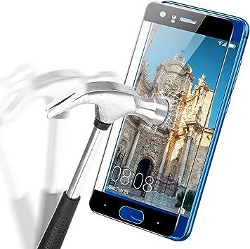 Huawei Honor 9 Cristal de protección, APICI 9H Dura Protector de ...