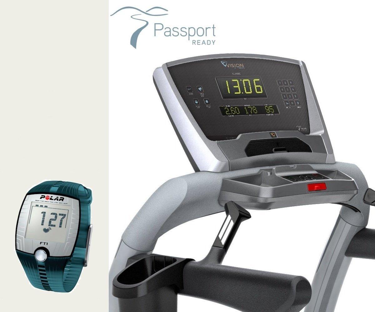 TF 20 Classic Vision fitness cinta de correr - FT1 polar reloj ...