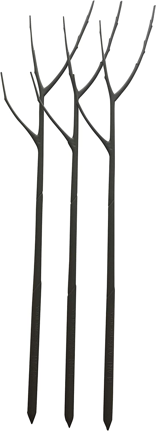 Twigs Garden Aesthetics - Original Twig (3 Pack) - Natural Looking Support Stake for Garden and Indoor or Outdoor Potted Plants