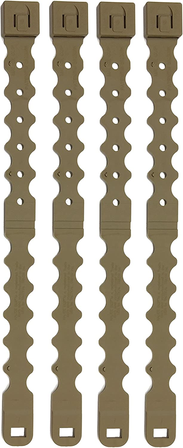 12 PACK black or coyote brown Tactical Tailor Fight Light MALICE Clips LONG
