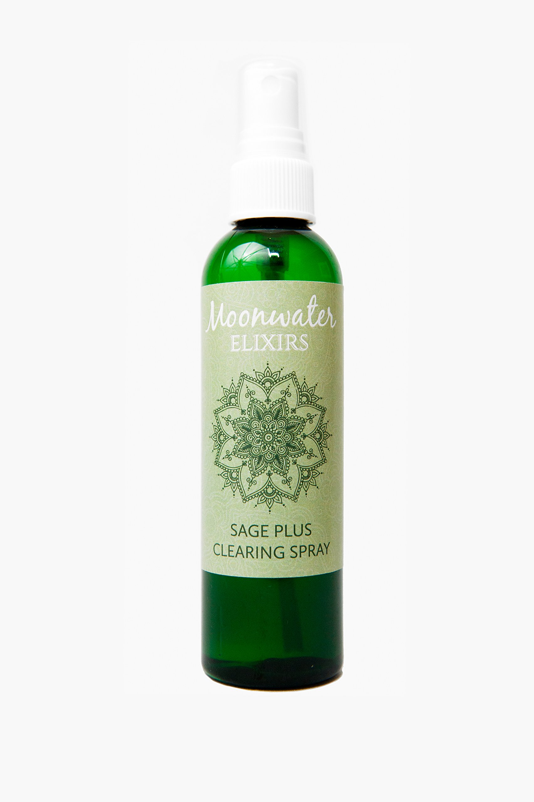 White Sage Spray. Smokeless Sage Smudge Spray. Energy and Space Clearing Spray. Organic Sage Bathed In Moonlight. Crystal and Reiki Energized Sage Mist.