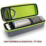 Tizum EchoPlus-G Travel Portable Hard Case Pouch for Echo Plus (Grey)