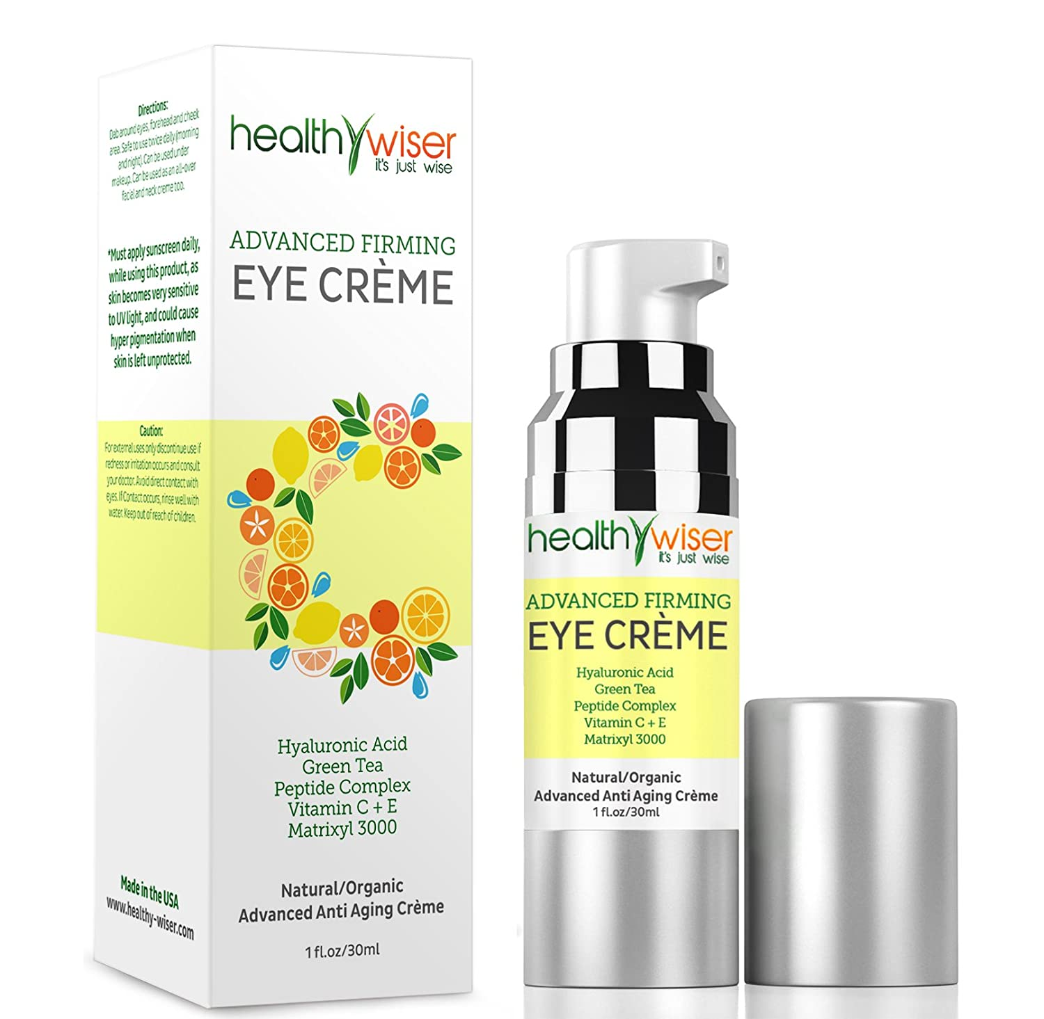 Advanced Firming Eye Cream Natural And Organic Anti Aging Nabi Duo Concealer For Wrinkles Under