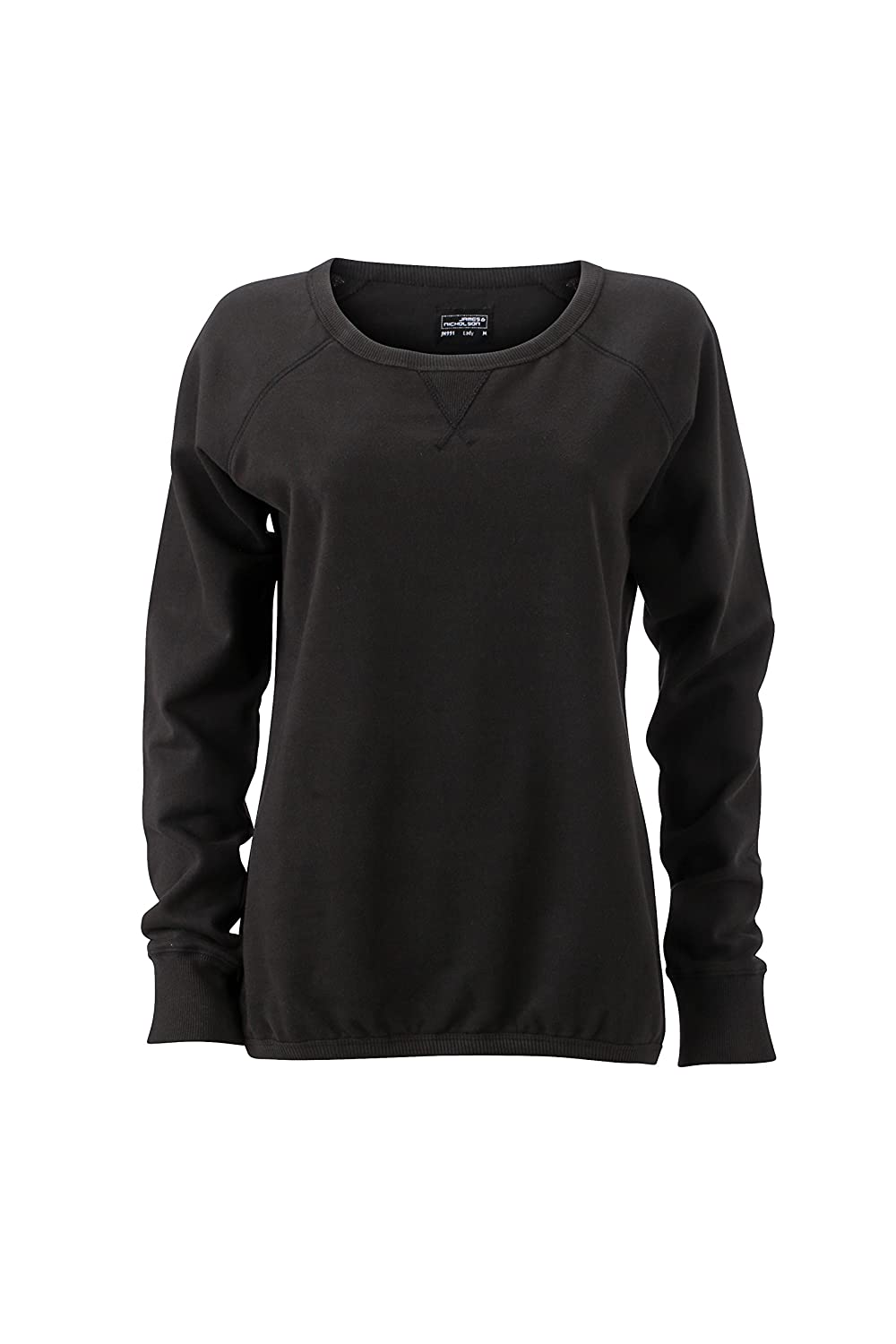 James /& Nicholson Damen Basic Sweat Sweatshirt
