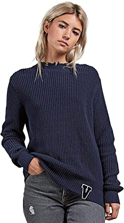 TALLA XS. Volcom Snatch Sweater -Fall 2018- Sea Navy
