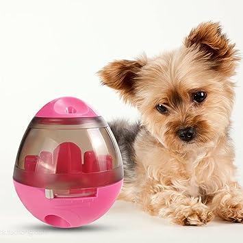 PETCUTE juguete de comida para perros juguetes interactivos para perros Juguete bola para perros Dispensador de comida para perros Juegos de alimentación ...