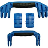 2 Blue Replacement Handles / 2 Blue Latches for Pelican 1510 or 1560 Customize your Pelican Case.