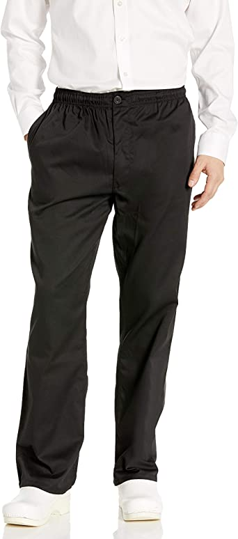 Chef Code Mens Basic Baggy Pant with Zipper Chefs Pant
