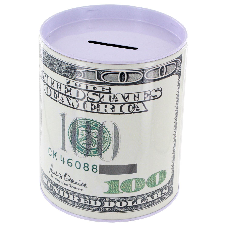 Metal Money Coin Bank by Kole Imports gm005kole-bank