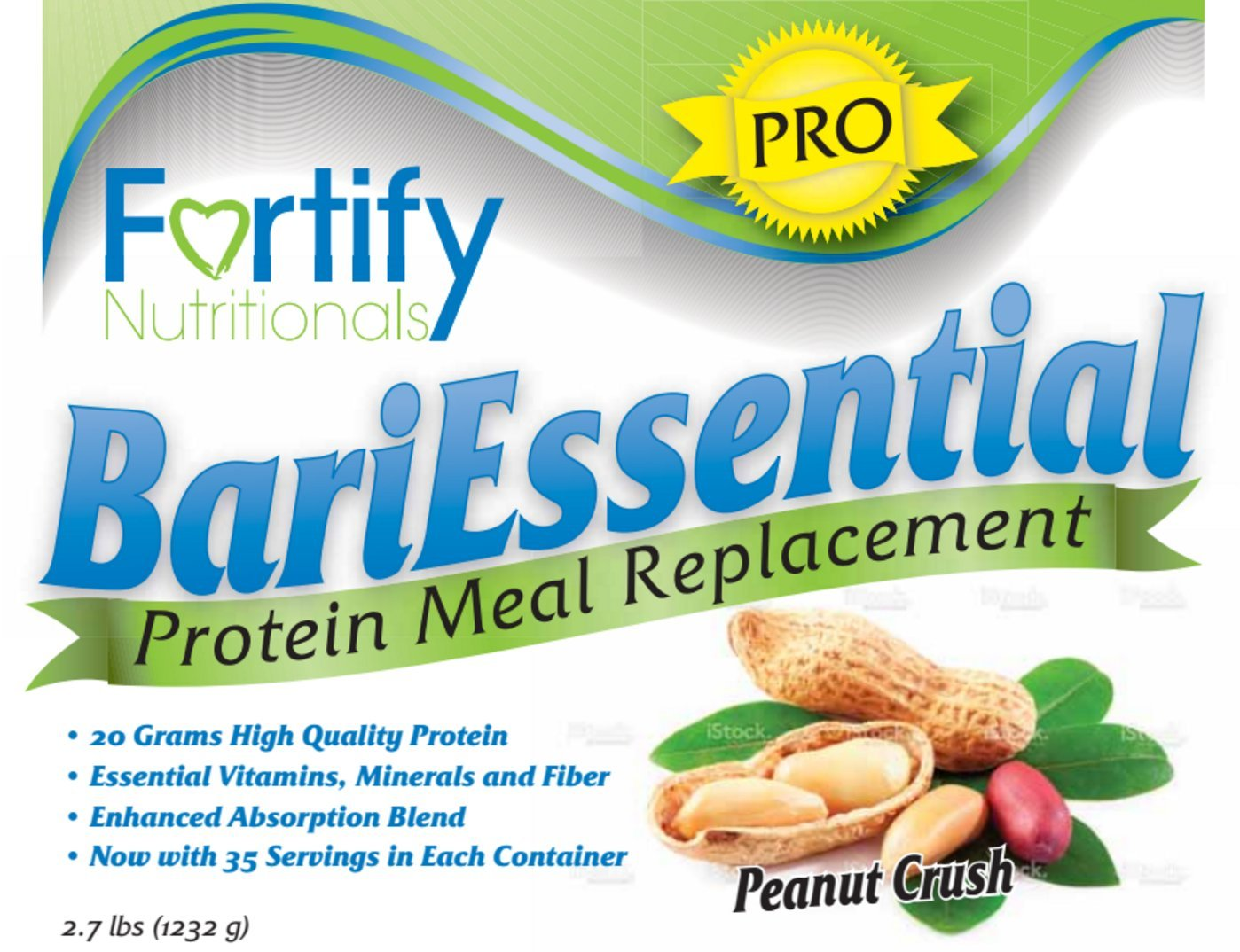 Amazon.com: BariEssential PRO Protein Meal Replacement Peanut Crush: Health & Personal Care