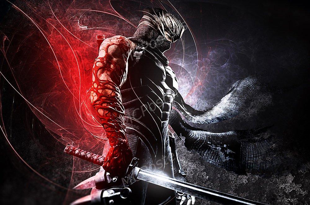 Amazon.com: PremiumPrintsG - Ninja Gaiden 3 Razors Edge Ryu ...