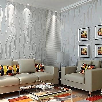 foto de Modern Non-Woven 3D Wallpapers, Pattern Environmental Protection ...