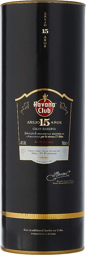 Havana Club 15 Year Old Gran Reserva Anejo Rum in Gift Box - 700 ml