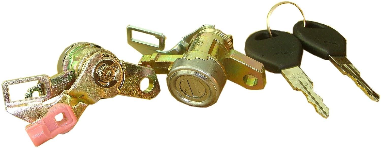 for 96-99 Nissan Maxima L/& R Well Auto Door Lock Cylinder W//key