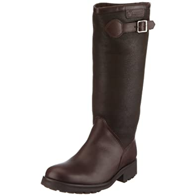 Aigle Chantebelle Sh, Bottes de pluie femme , Marron (Dark Brown), 36