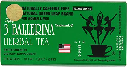 3 balerina fogyókúra tea