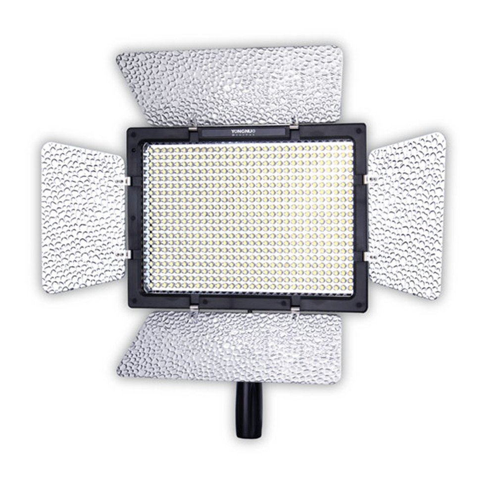 YONGNUO YN600L Pro LED Video Light/LED Studio Light with 5500K Color Temperature and Adjustable Brightness for the SLR Cameras Camcorders, like Canon Nikon Pentax Olympus Samsung Panasonic JVC etc. by Yongnuo