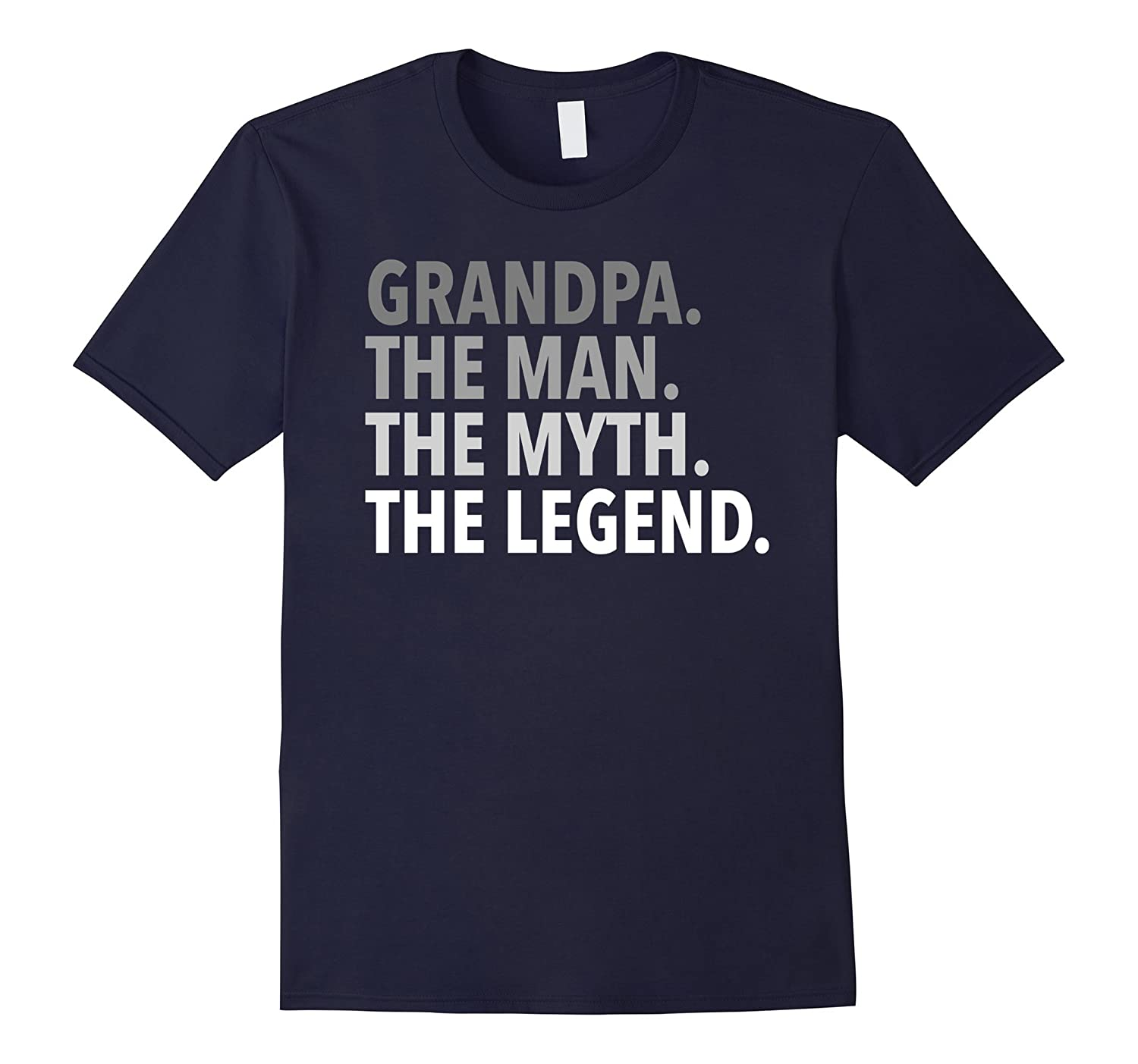Mens Grandpa - The Man The Myth The Legend T Shirt Dad Papa-PL