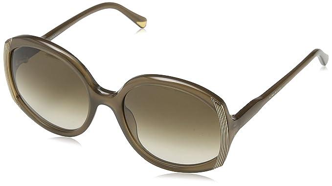 Nina Ricci SNR050-gafas de sol Mujer Marrón Marrón (SHINY ...
