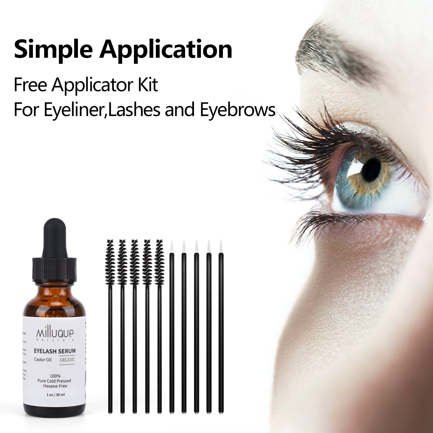 Amazon Castor Oil For Eyelashes And Eyebrows 100 Pure