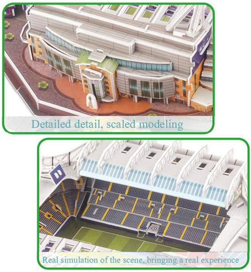 3D PUZZLE Stadium Puzzles 3D Estadio Fútbol DIY Puzzle Sports ...