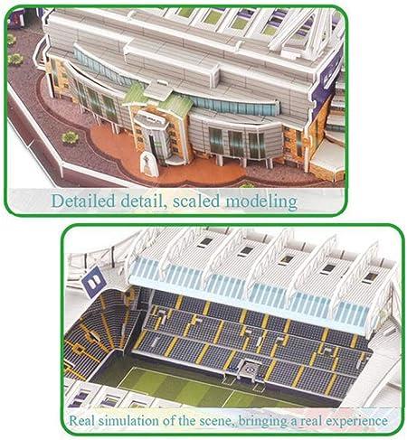 asdfgh 3D Puzzle Stadium Puzzles 3D Estadio Fútbol DIY Puzzle ...