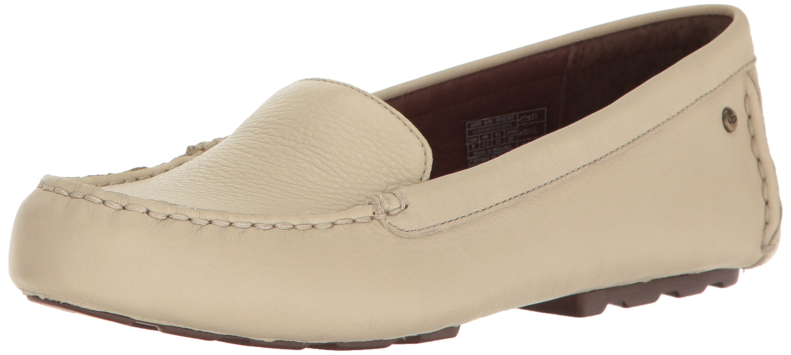 UGG Women's Milana Boat Shoe, Canvas, 7.5 B US