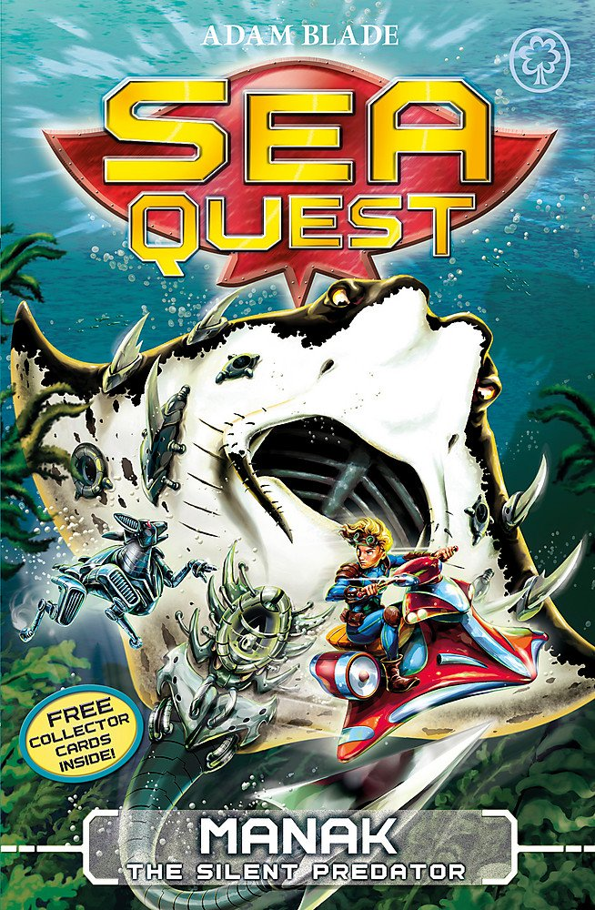 Read Online Manak the Silent Predator (Sea Quest) ebook