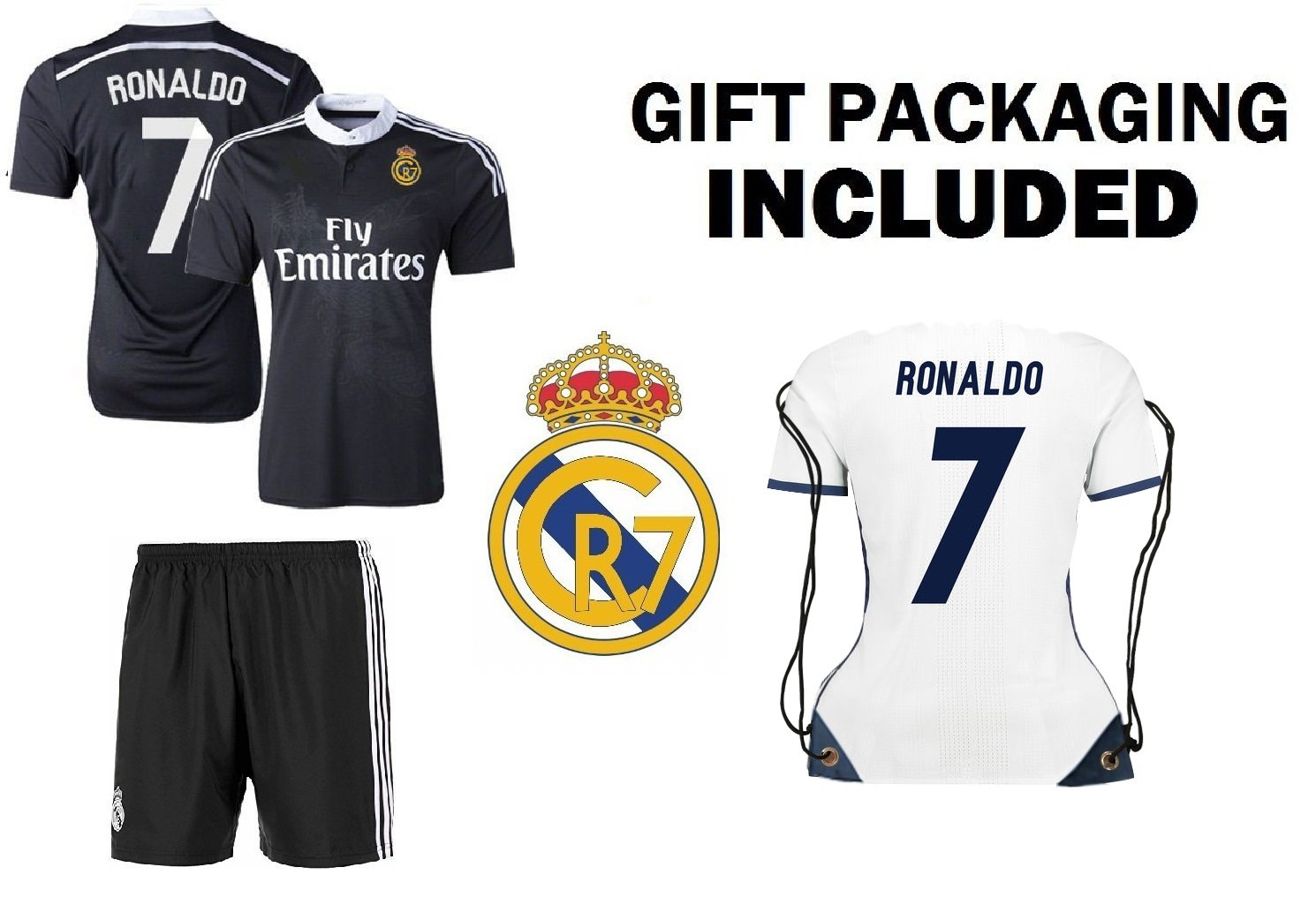 37c7c414f1b AMAZING GIFT FOR SOCCER FANS  This Fan Kit bag Ronaldo  7 Soccer Premium  Gift Kit bag is engineered to be the BEST GIFT for all soccer fans!