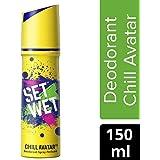 Set Wet Chill Avatar Deodorant Spray Perfume, 150 ml